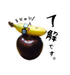 バナナのバナ平(実写)(個別スタンプ:06)