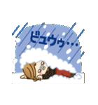【動く♥冬&お正月】毎日つかえる言葉♥(個別スタンプ:16)