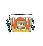 ハコ男子(冬)(個別スタンプ:19)