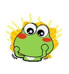 晴れの日も、カエルさん(個別スタンプ:13)