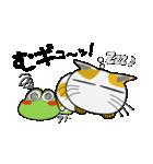 晴れの日も、カエルさん(個別スタンプ:24)