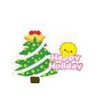 動く!ひよこのぴよちゃんクリスマス&お正月(個別スタンプ:08)