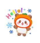 みかんパンダさん(個別スタンプ:02)