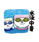 水泳女子のためのスタンプ、その5(個別スタンプ:01)