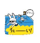 水泳女子のためのスタンプ、その5(個別スタンプ:24)