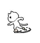 すこぶる動くネコ【冬】(個別スタンプ:01)