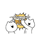 すこぶる動くネコ【冬】(個別スタンプ:02)