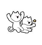 すこぶる動くネコ【冬】(個別スタンプ:08)