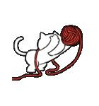 すこぶる動くネコ【冬】(個別スタンプ:09)
