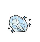 すこぶる動くネコ【冬】(個別スタンプ:11)