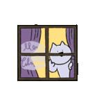 すこぶる動くネコ【冬】(個別スタンプ:16)