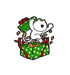 すこぶる動くネコ【冬】(個別スタンプ:17)