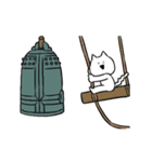 すこぶる動くネコ【冬】(個別スタンプ:19)
