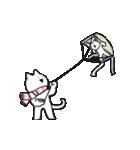 すこぶる動くネコ【冬】(個別スタンプ:22)