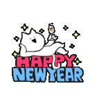 すこぶる動くネコ【冬】(個別スタンプ:24)