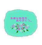 伝えたい想いにかわいい花を添えて。(個別スタンプ:09)