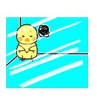 ひよこのきぃちゃん※ガラス越しバージョン(個別スタンプ:23)