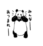 てきとーパンダ5(個別スタンプ:10)
