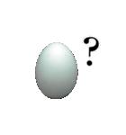 ただの卵です(個別スタンプ:22)