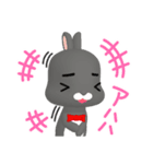 3Dうさぎ ラパン&バニー1(個別スタンプ:13)
