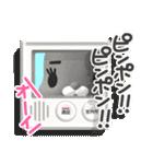 3Dうさぎ ラパン&バニー2(個別スタンプ:2)