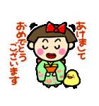 昭和ガール6 お正月・クリスマス編(個別スタンプ:01)