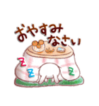 大人ガーリースタンプ~冬~(個別スタンプ:40)