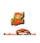 スーパーマリオブラザーズ8bitスタンプ(個別スタンプ:02)