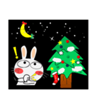 クリスマスも、うさぎサン(個別スタンプ:14)