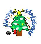 黒猫ハッピー&みーこ in Christmas(個別スタンプ:04)