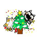 黒猫ハッピー&みーこ in Christmas(個別スタンプ:05)