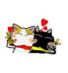 黒猫ハッピー&みーこ in Christmas(個別スタンプ:06)