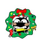黒猫ハッピー&みーこ in Christmas(個別スタンプ:15)