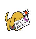毎年使える(2018 いぬ→2019 イノシシ)(個別スタンプ:21)