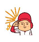 広島弁ピピピ・野球編(個別スタンプ:02)