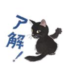 ゆめねこ5黒(個別スタンプ:02)