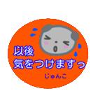 名前スタンプ【じゅんこ】が使う冬スタンプ(個別スタンプ:16)