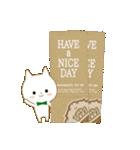 ☆白ねこブランのカジュアル日常セット☆(個別スタンプ:2)
