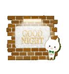 ☆白ねこブランのカジュアル日常セット☆(個別スタンプ:3)