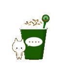 ☆白ねこブランのカジュアル日常セット☆(個別スタンプ:28)