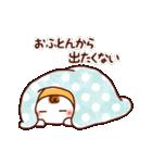 ☆ほんわか系スタンプ☆冬・年末年始(個別スタンプ:3)