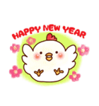 ☆ほんわか系スタンプ☆冬・年末年始(個別スタンプ:25)