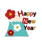 大人の可愛げマナー年賀状&お正月(個別スタンプ:12)