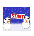 正月&クリスマス 年末年始のイベント(行事)(個別スタンプ:34)