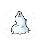 うさぎ100% 冬(個別スタンプ:27)