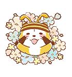 ふんわりラスカル☆ポップアップスタンプ(個別スタンプ:01)