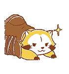 ふんわりラスカル☆ポップアップスタンプ(個別スタンプ:21)