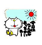 みちのくねこ 春夏秋冬「冬」(個別スタンプ:20)