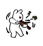 音楽、楽しい、バイオリン(個別スタンプ:17)