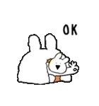 すこぶる動くウサギ【冬】(個別スタンプ:1)